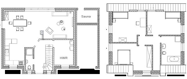 Grundrisse Haus Harmonie