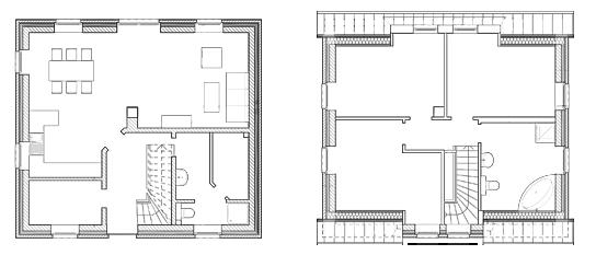 Grundrisse Haus Idylle